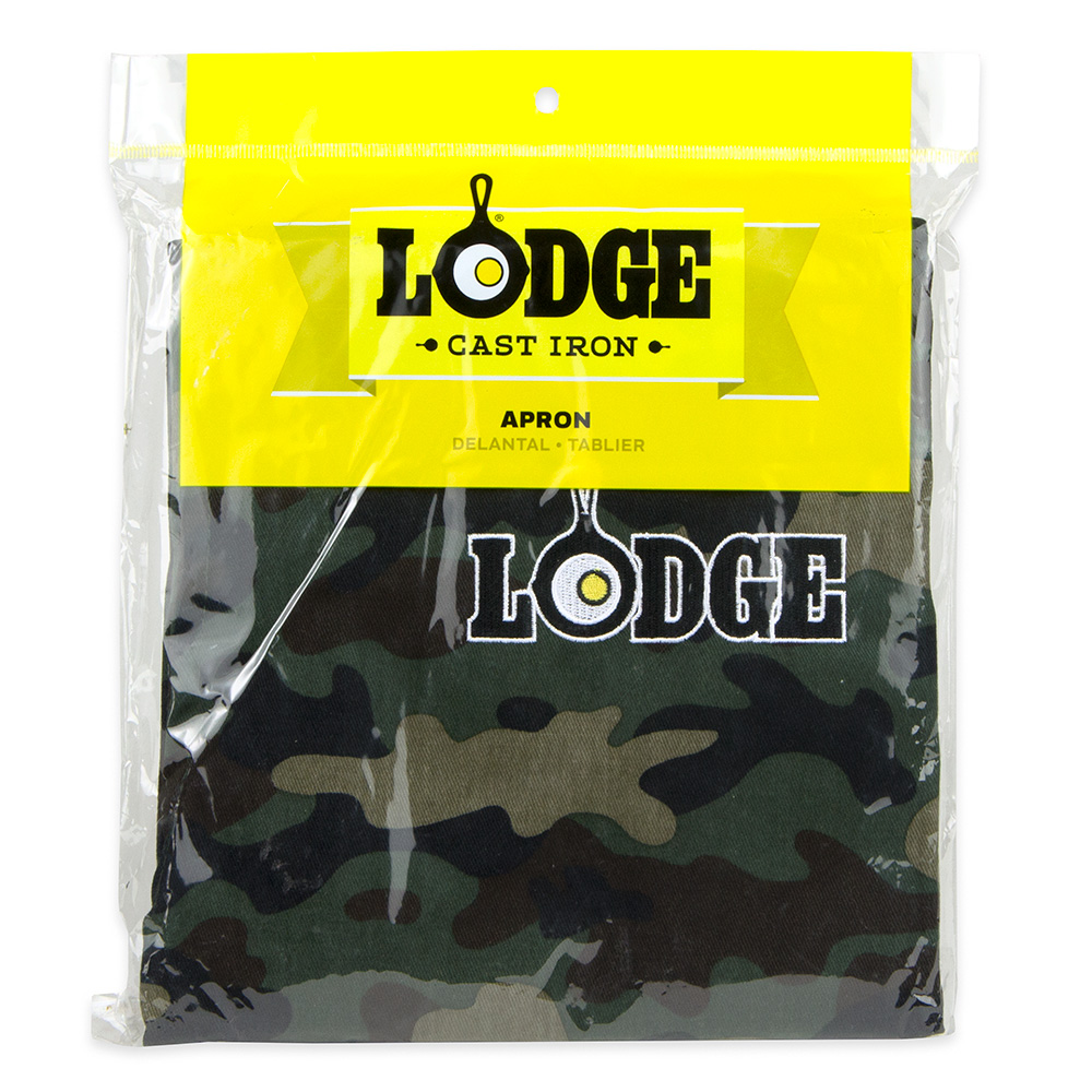 Lodge A5-ACAM Bib Apron with Pocket - Camouflage