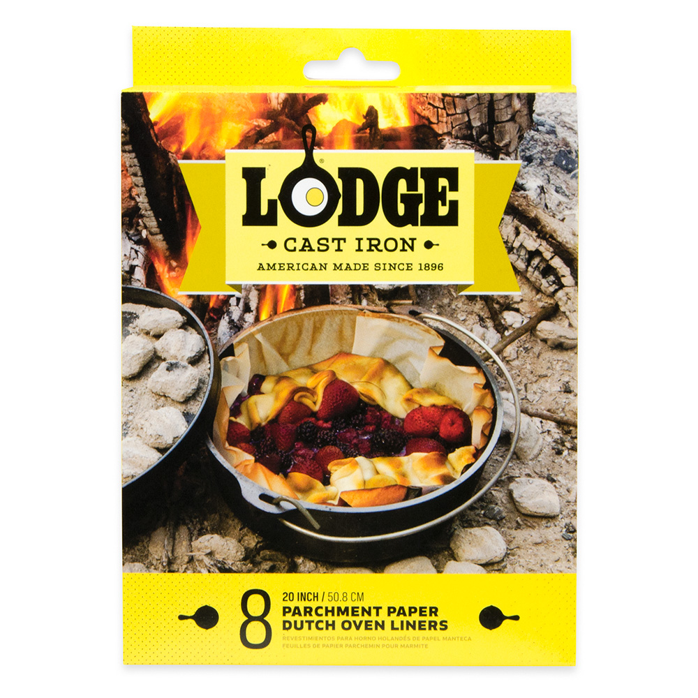 """Lodge A5-DOL Dutch Oven Liner Pack w/ Universal 20"""" Round Parchment Paper"""