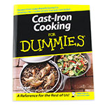 Lodge CBCID Cast Iron Cooking for Dummies Cookbook w/ 150-Recipes