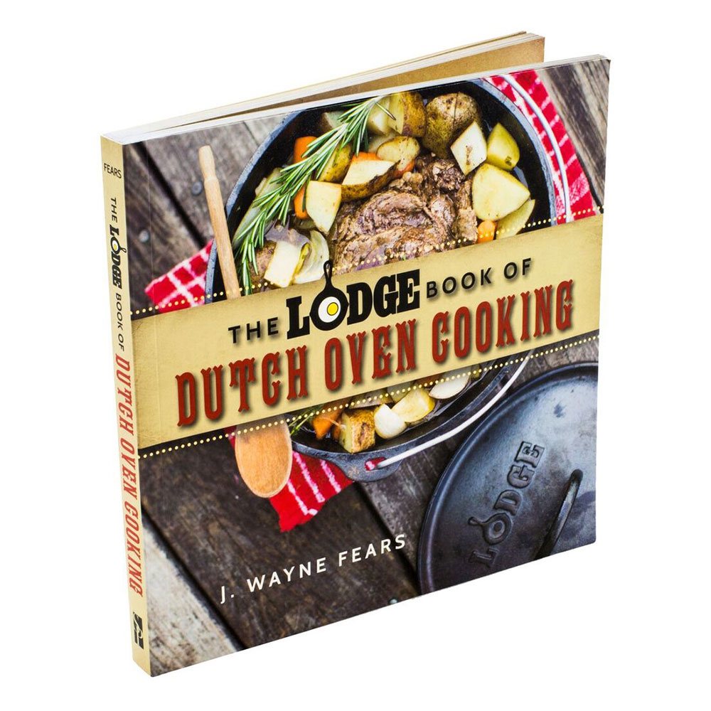 Lodge CBLDO 34-Recipe Dutch Oven Cooking Cookbook w/ 165 pages
