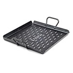 "Lodge CRSGP12 Square Grilling Pan with Handles - 13x12"" Carbon Steel"