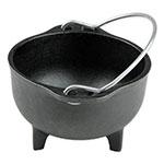 "Lodge HCK 5"" Round Cast Iron Country Kettle w/ 16-oz Capacity, Dishwasher Safe"