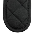 Lodge HHMT Handle Mitt w/ Steam Barrier & Pyrotex Exterior, Terry Interior, Charcoal Black