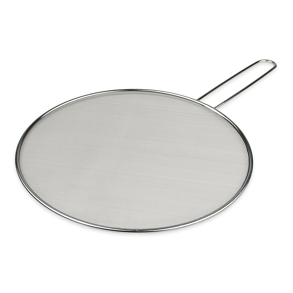 "Lodge K13SCRN 13"" Round Splatter Screen, Stainless"