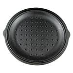 "Lodge L10SC3 12"" Round Self-Basting Iron Cover"