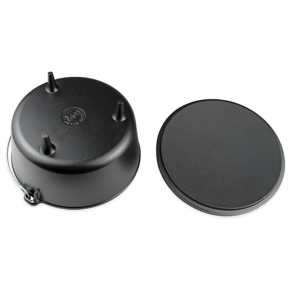 Lodge L12DCO3 8-qt Cast Iron Braising Pot
