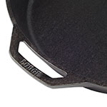 "Lodge L14SK3 15.25"" Round Cast Iron Seasoned Skillet"