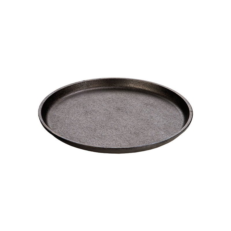 Lodge L70GH3 9.25-in Round Preseasoned Cast Iron Griddle