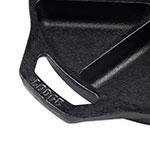 "Lodge L8CB3 9"" Round Cast Iron Seasoned Wedge Pan w/ 8-Slice Capacity"