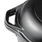 Lodge L8DD3 5-qt Cast Iron Braising Pot
