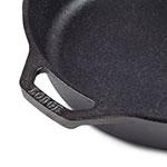 "Lodge L8SK3 10.25"" Round Cast Iron Seasoned Skillet, 2"" Deep"