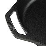 "Lodge L8SKL 10.25"" Round Cast Iron Seasoned Skillet w/ Handles"