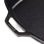 "Lodge L8SQ3 10.5"" Square Cast Iron Seasoned Skillet"