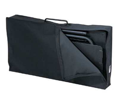 Lodge A1-7 Camp Dutch Oven Cooking Table Tote Bag, Black Polyester
