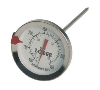 Lodge A280 5-in deep Fry Thermometer w/ 100-400 Degree Range