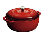 Lodge EC4D43 4.5-qt Cast Iron Dutch Oven, Enamel, Island Spice