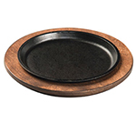 Lodge L5OGH3 7-in Round Cast Iron Old Style Griddle