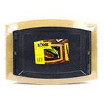 "Lodge LSC3SET Rectangular Sizzle Platter Set with Underliner - 11-5/8x7-3/4"" Cast Iron"