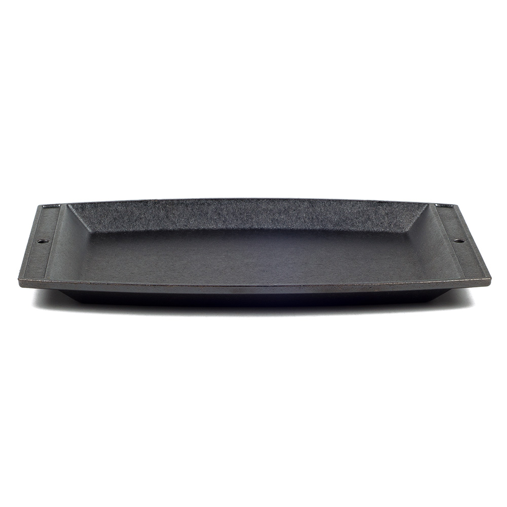 """Lodge LSCP3 Sizzling Chefs Platter, 11.62x7.75"""""""