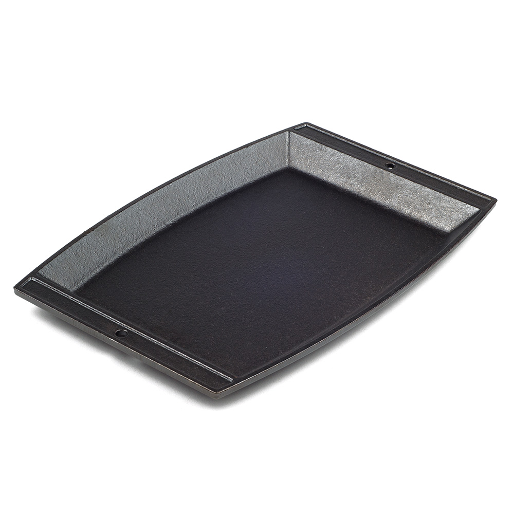 Lodge LSCP3 Sizzin Chefs Platter, 11.62x7.75-in