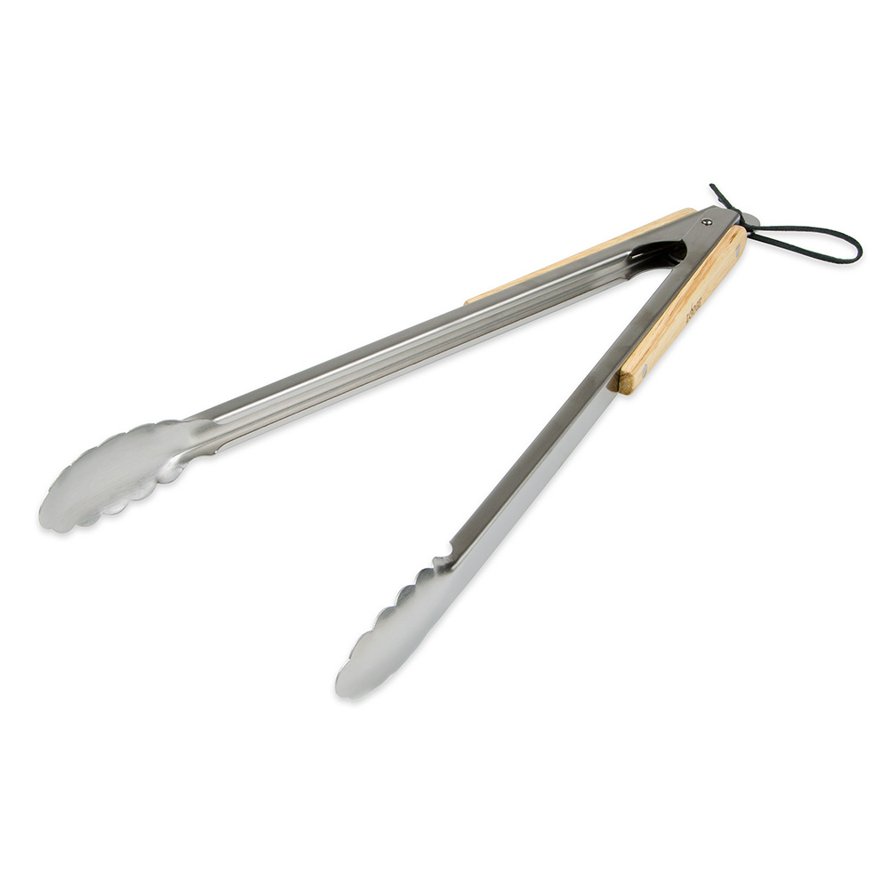 "Lodge OTONG 19"" Utility Grilling Tongs - Stainless"