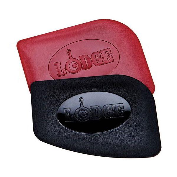 Lodge SCRAPERPK Pan Scraper Set w/ 1-Red & 1-Black, Polycarbonate
