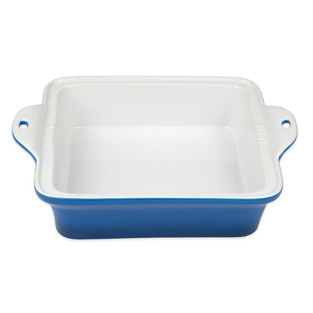 "Lodge STW8SQ33 Square Baking Dish - 8"" x 8"", Stoneware, Blue"