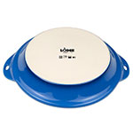"Lodge STW9R33 9.5"" Round Baking Dish - Stoneware, Blue"
