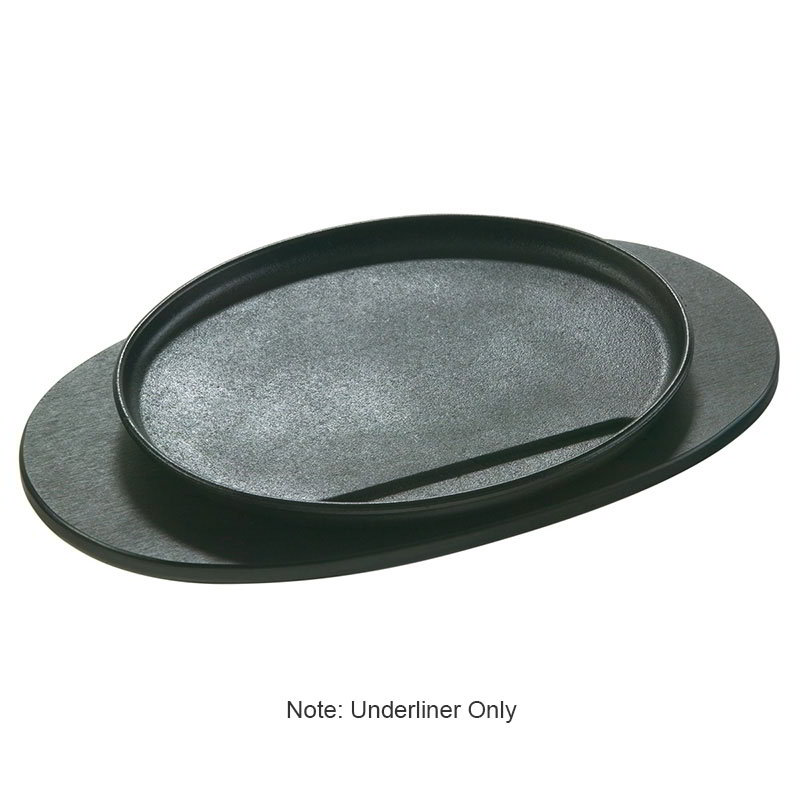 Lodge UAJB Oval Wood Underliner, Ebony Black Stain