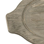 Lodge UGOH Oval Wood Grip Style Underliner, Walnut Stain