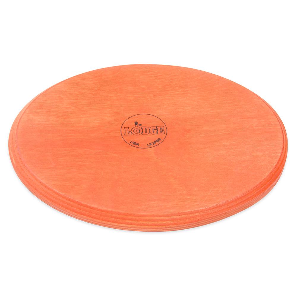 Lodge UOPB9 Oval Wood Underliner, Tangerine Orange
