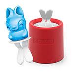 Zoku 013 Bunny Pop Maker - 1 Mold & 1 Stick w/ Drip Guard