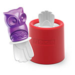 Zoku 014 Owl Pop Maker - 1 Mold & 1 Stick w/ Drip Guard