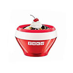 Zoku ZK120RD 5-oz Ice Cream Maker Bowl w/ Spoon, Red
