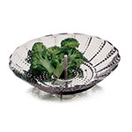 Focus 10957 Collapsible Steamer, Stainless Steel, 9 in