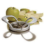 Focus 11508 Apple Wedger w/ Curved Handles & Stainless Blades