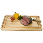 Focus 1266 Northern Hard Birch Carving Board w/ Rubber Legs, 20 x 16""