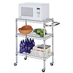 "Focus 34458 Kitchen Cart Kit, Chrome Plated, 13-1/2"" X 23-1/2"" X 22-1/4"""