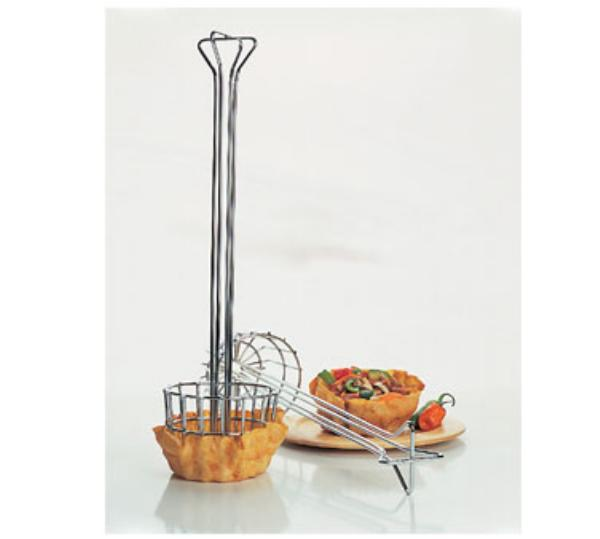 Focus 471 Tortilla Shell Fryer Basket w/ 1-Bowl Capacity