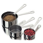 Focus 527-CUPS Measuring Cup Set, 4 Piece, Stainless Steel