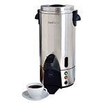 Focus 54100 100-Cup Coffee Urn, Stainless