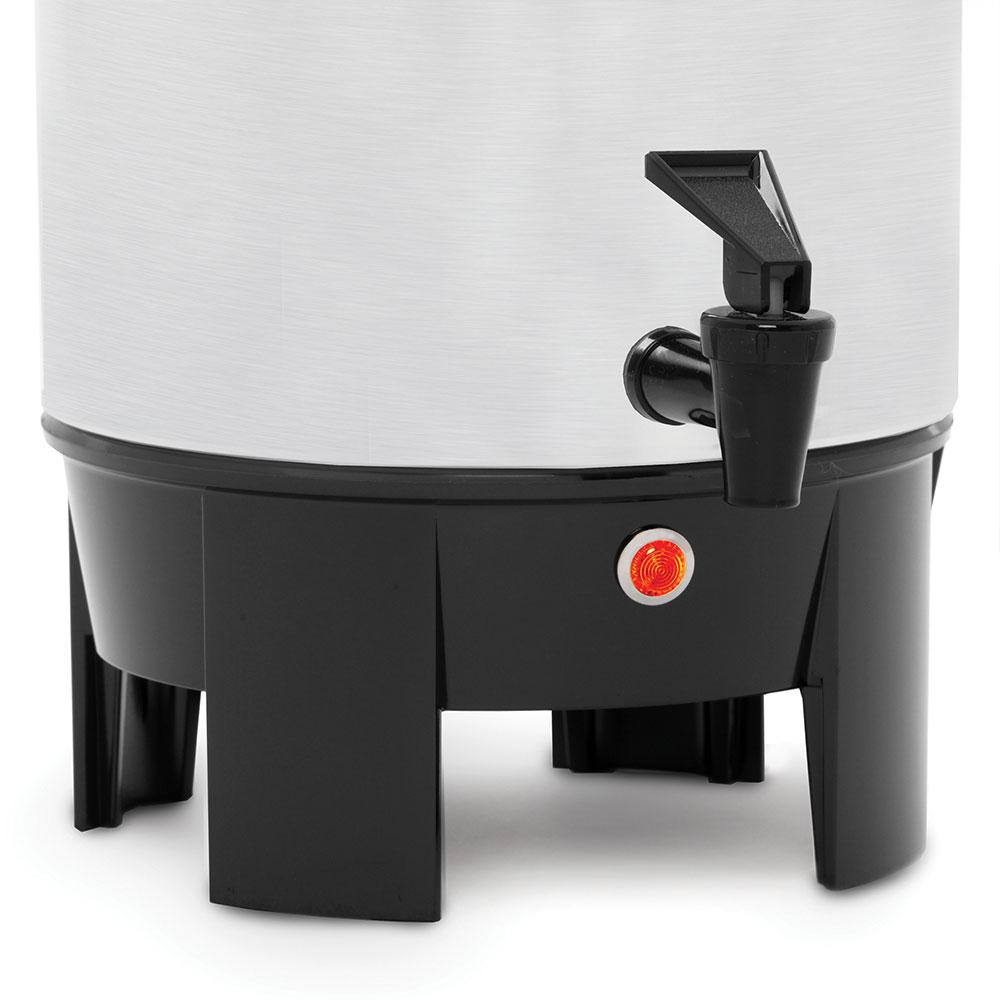 Focus 58002 West Bend® 42-cup Urn Coffee Maker w/ Level Markings, Aluminum