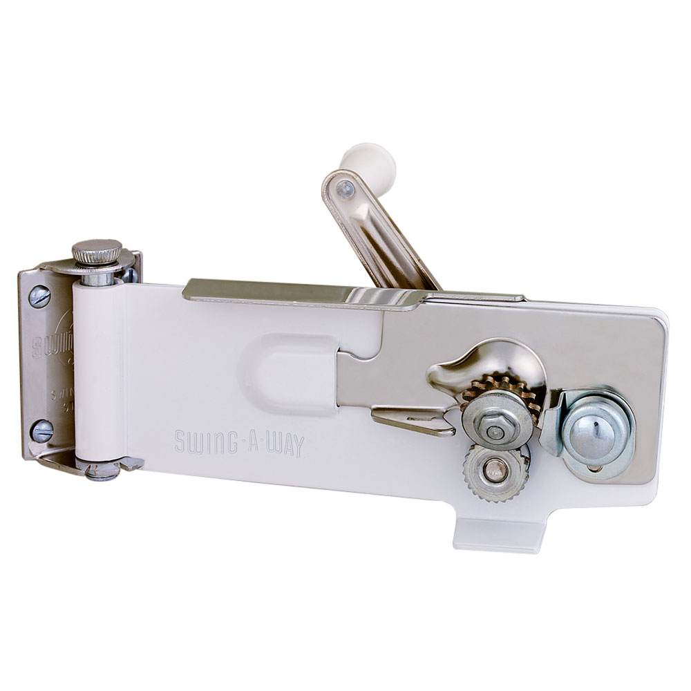 Focus 609WH Swing - A - Way Magnetic Wall Can Opener, White