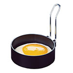 "Focus 8401 Round Egg Ring, 3"" Dia., Non-Stick, Pair"