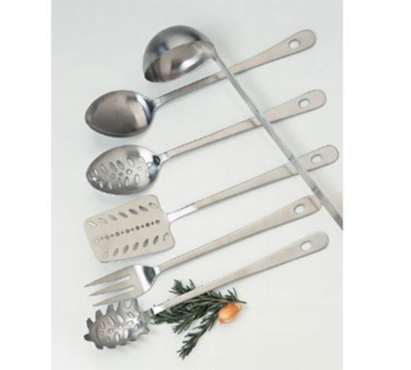 "Focus 877 Pasta Fork, 14""L,Stainless"