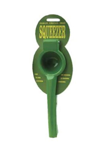 "Focus 8643 Lime Squeezer - 10x3.5x1.88"", Enamelled Aluminum, Light Green"