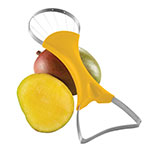 "Focus 8908 2"" 1-Mango Slicer & Pitter w/ Yellow Handle"