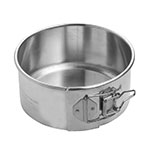 Focus 900406 Spring Form Cake Pan, 6 in dia. x 3 in deep, Aluminum