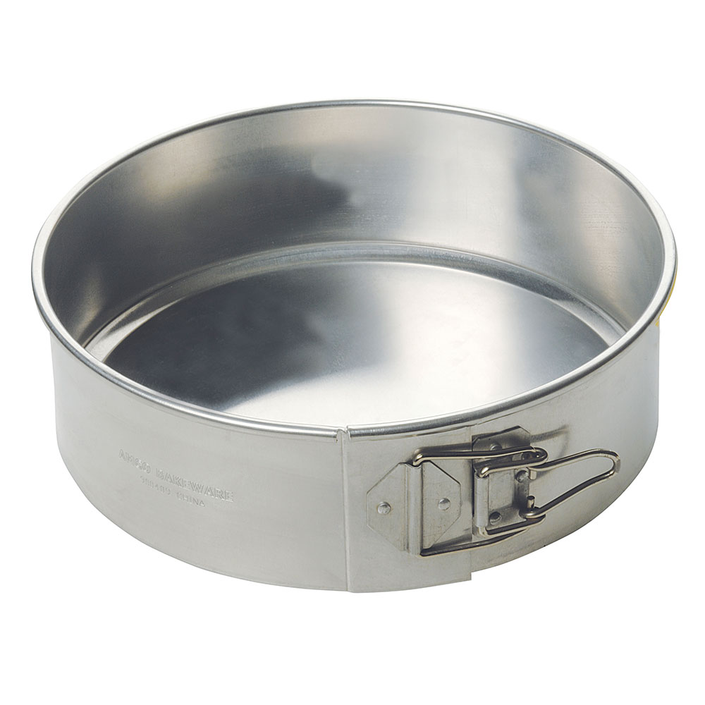 Focus 900409 Spring Form Cake Pan, 9 in dia. x 3 in deep, Aluminum