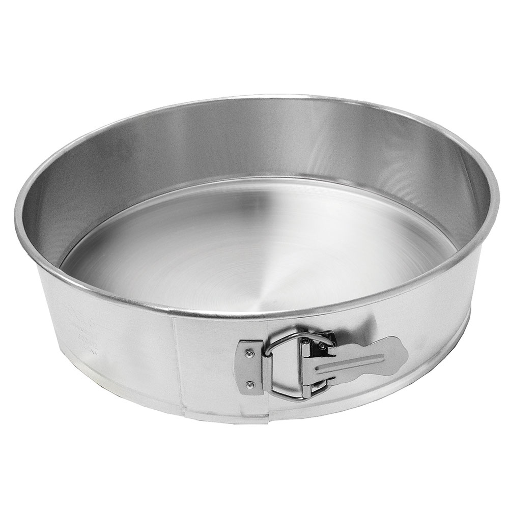 Focus 900412 Spring Form Cake Pan, 12 in dia x 3 in Deep, Aluminum